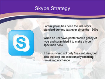 Mature businessman working PowerPoint Template - Slide 8