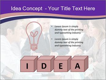 Mature businessman working PowerPoint Template - Slide 80
