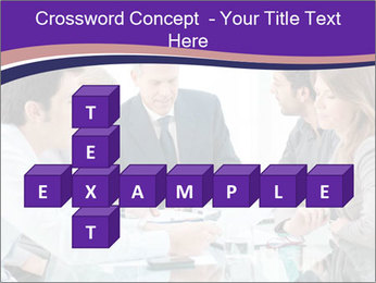 Mature businessman working PowerPoint Template - Slide 82