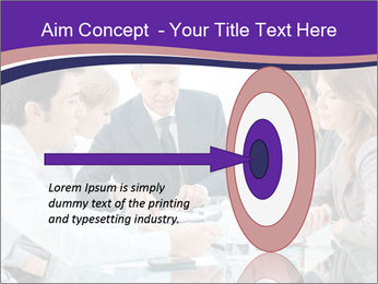 Mature businessman working PowerPoint Templates - Slide 83
