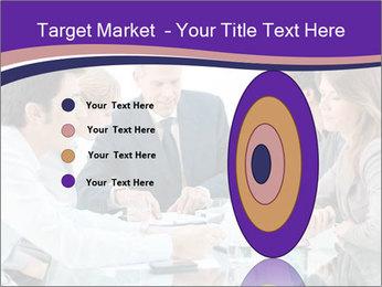 Mature businessman working PowerPoint Template - Slide 84