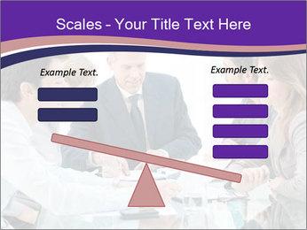 Mature businessman working PowerPoint Template - Slide 89