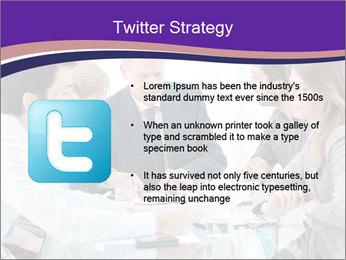 Mature businessman working PowerPoint Template - Slide 9