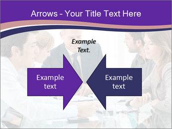 Mature businessman working PowerPoint Template - Slide 90