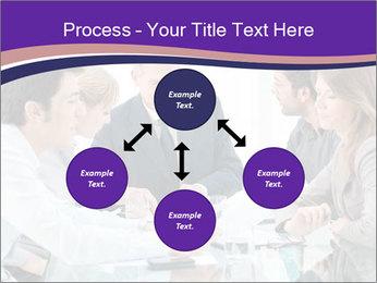 Mature businessman working PowerPoint Template - Slide 91
