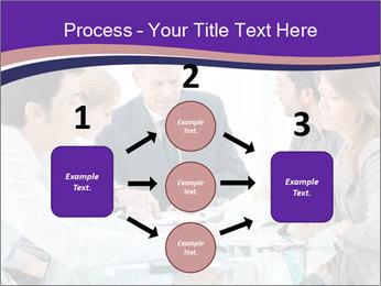 Mature businessman working PowerPoint Template - Slide 92
