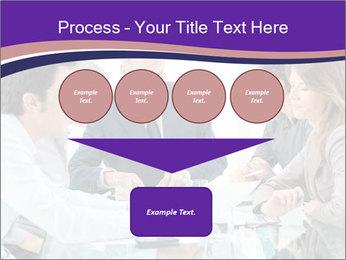 Mature businessman working PowerPoint Template - Slide 93