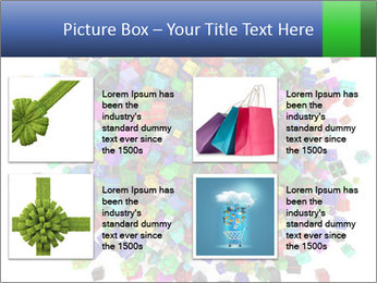 Different birthday gifts PowerPoint Templates - Slide 14