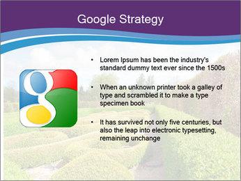 Garden in spring PowerPoint Template - Slide 10