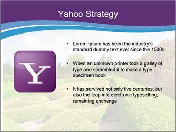 Garden in spring PowerPoint Template - Slide 11