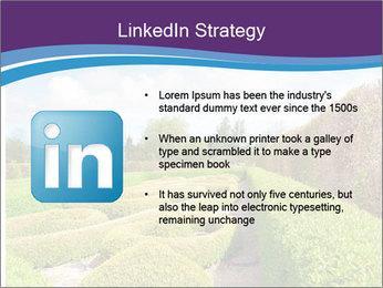 Garden in spring PowerPoint Template - Slide 12
