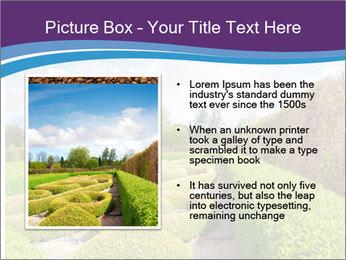 Garden in spring PowerPoint Template - Slide 13
