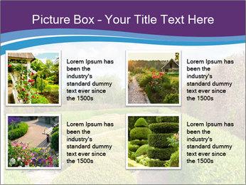 Garden in spring PowerPoint Template - Slide 14