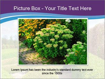 Garden in spring PowerPoint Template - Slide 15