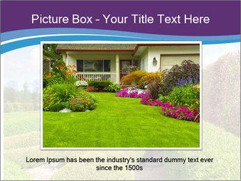Garden in spring PowerPoint Template - Slide 16