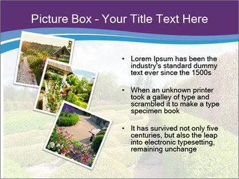 Garden in spring PowerPoint Template - Slide 17