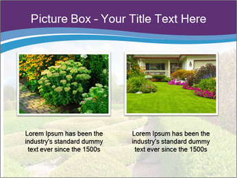 Garden in spring PowerPoint Template - Slide 18