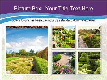 Garden in spring PowerPoint Template - Slide 19