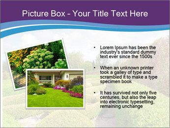 Garden in spring PowerPoint Template - Slide 20