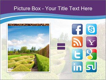 Garden in spring PowerPoint Template - Slide 21