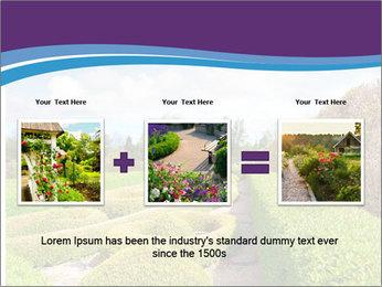 Garden in spring PowerPoint Template - Slide 22