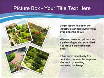 Garden in spring PowerPoint Template - Slide 23