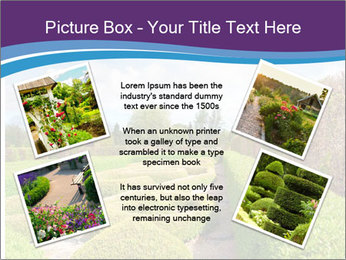 Garden in spring PowerPoint Template - Slide 24