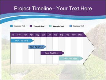Garden in spring PowerPoint Template - Slide 25