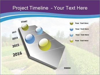 Garden in spring PowerPoint Template - Slide 26