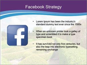 Garden in spring PowerPoint Template - Slide 6
