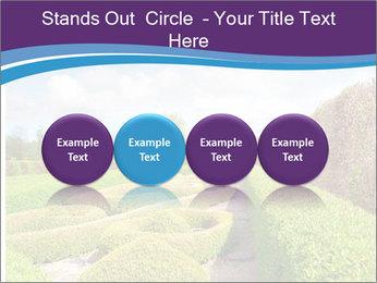 Garden in spring PowerPoint Template - Slide 76