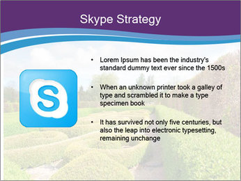 Garden in spring PowerPoint Template - Slide 8