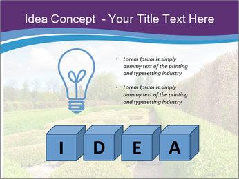 Garden in spring PowerPoint Template - Slide 80