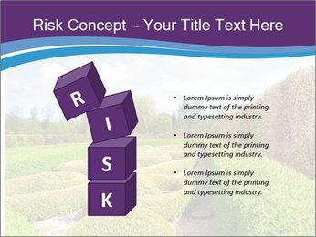 Garden in spring PowerPoint Template - Slide 81