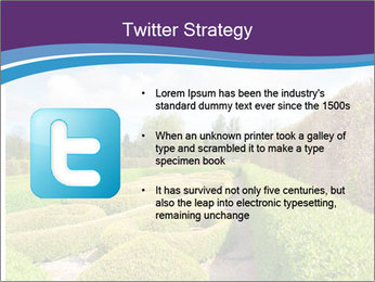 Garden in spring PowerPoint Template - Slide 9