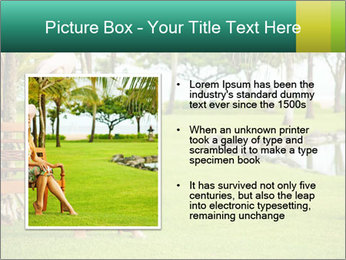 Woman sitting PowerPoint Templates - Slide 13