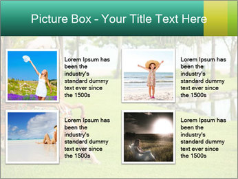 Woman sitting PowerPoint Templates - Slide 14
