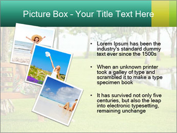 Woman sitting PowerPoint Templates - Slide 17