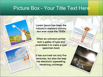 Woman sitting PowerPoint Templates - Slide 24