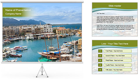 Northern Cyprus PowerPoint Template