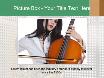 Woman with saxophone PowerPoint Templates - Slide 15