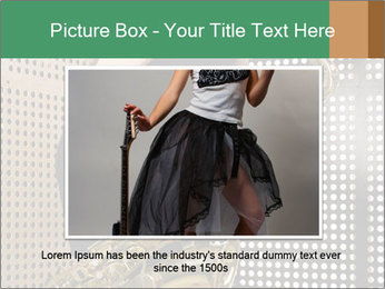Woman with saxophone PowerPoint Templates - Slide 16