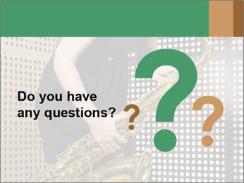 Woman with saxophone PowerPoint Templates - Slide 96
