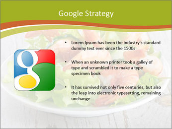 Green salad PowerPoint Template - Slide 10