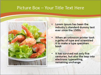 Green salad PowerPoint Template - Slide 13
