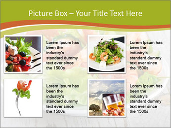 Green salad PowerPoint Template - Slide 14
