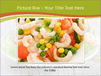 Green salad PowerPoint Template - Slide 15