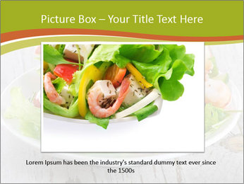 Green salad PowerPoint Template - Slide 16