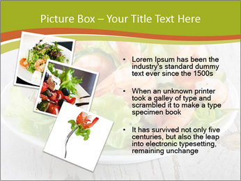 Green salad PowerPoint Templates - Slide 17