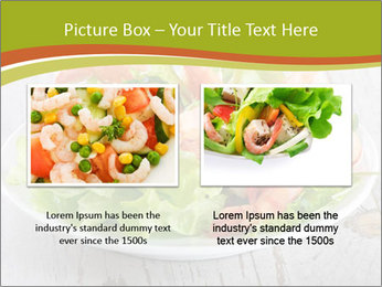 Green salad PowerPoint Template - Slide 18